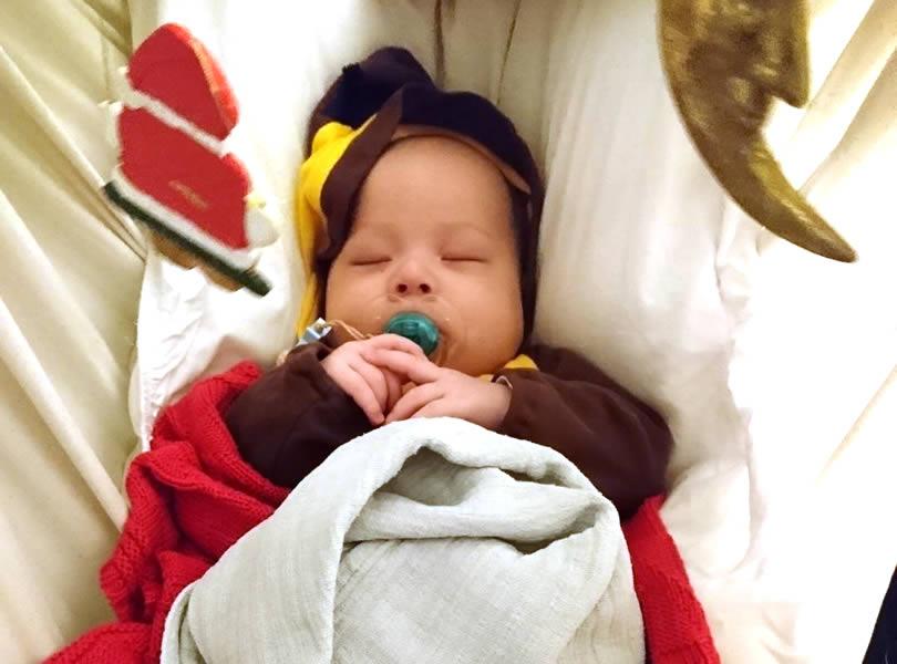 Babys schlafen entspannt im Kangoo MAXIplusX